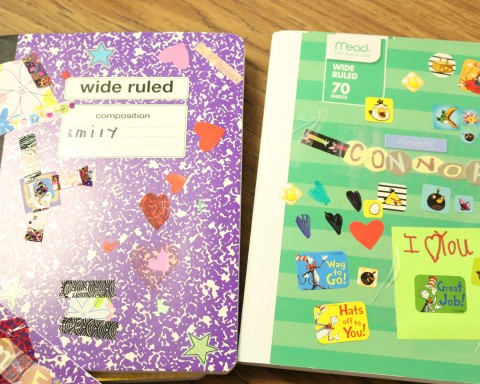Kindergarten Writer's Notebooks