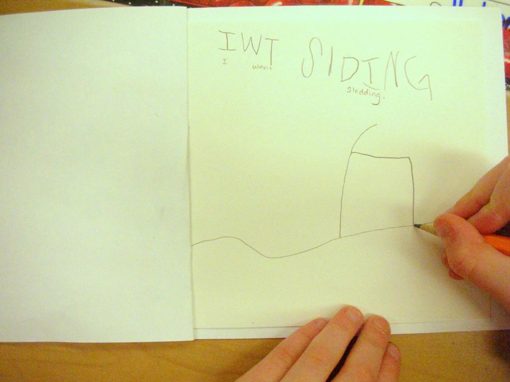 kindergarten writing 2